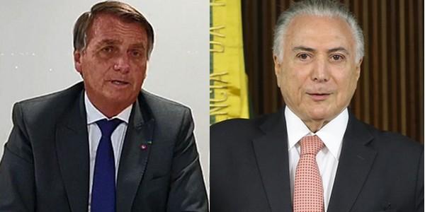 Carta de Bolsonaro feita com colaboração do Temer