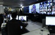 Em sessão virtual inédita, Senado aprova decreto de calamidade pública
